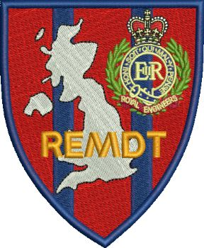 REMDT Embroidered Badge
